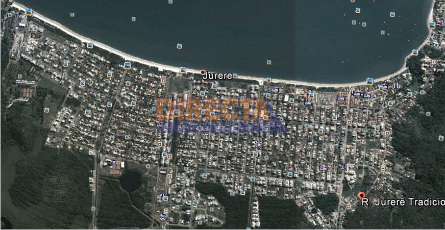 Terreno residencial à venda, Jurerê, Florianópolis.