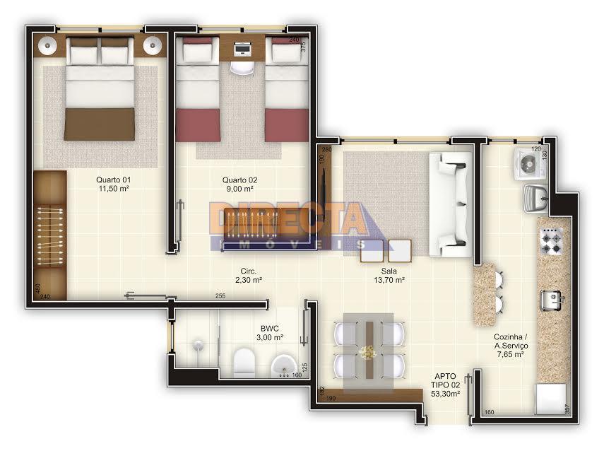 excelente oportunidade para quem quer sair do aluguel e concretizar o sonho da casa própria!! apartamento...
