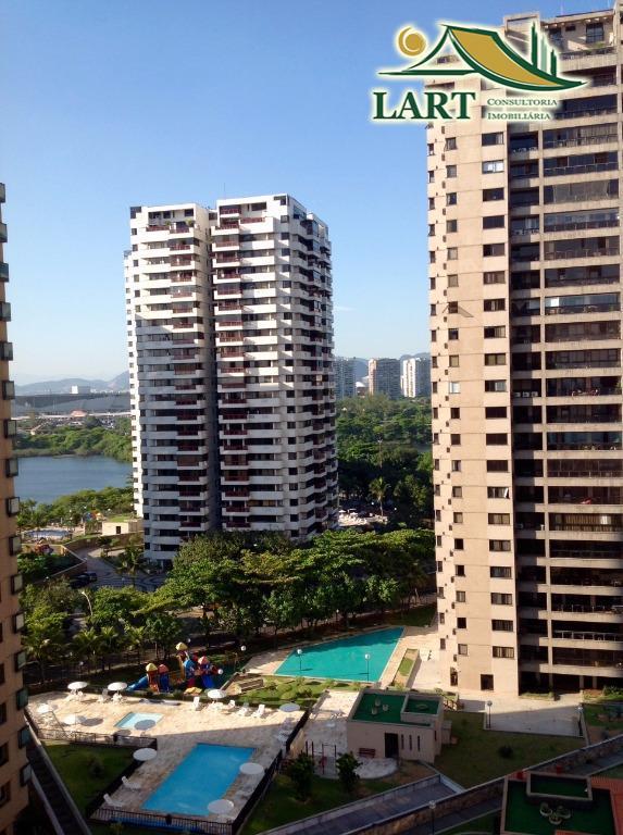 Apartamento residencial à venda, Barra da Tijuca, Rio de Janeiro.