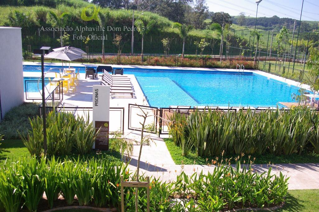 Terreno residencial à venda, Alphaville Dom Pedro 3, Campinas.