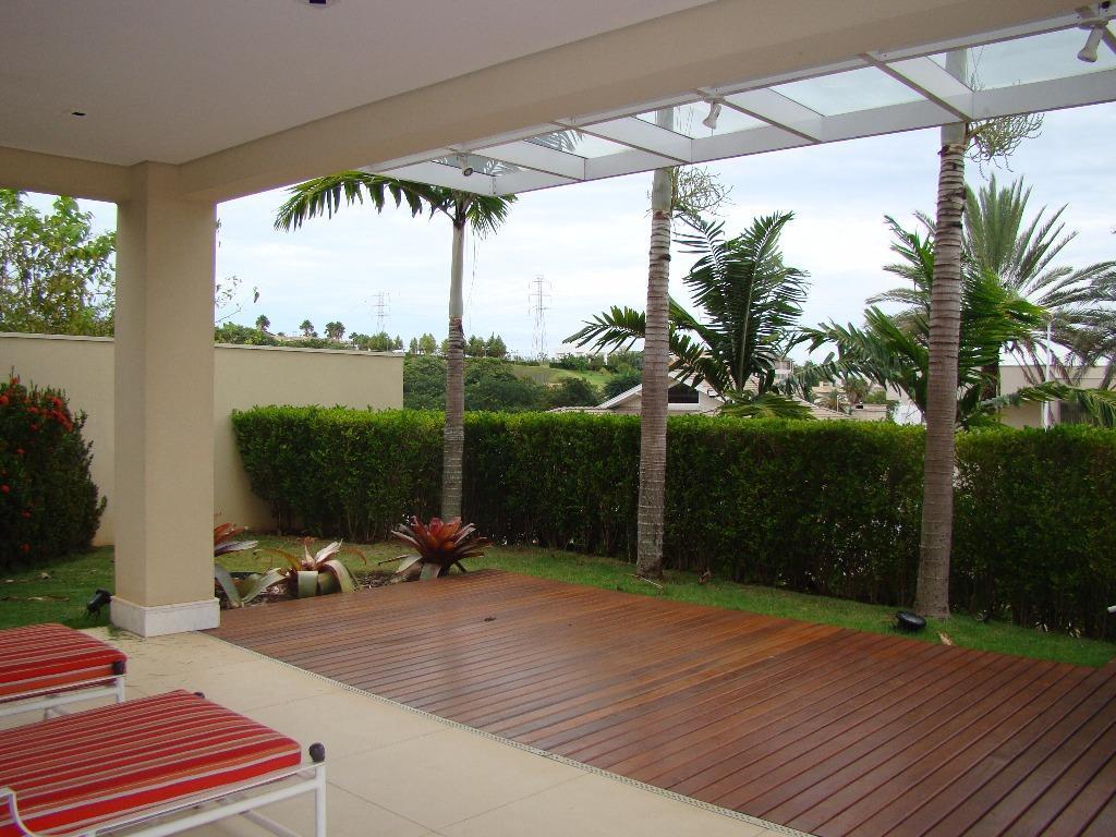 Casa residencial para locação, Parque das Araucárias, Campinas.