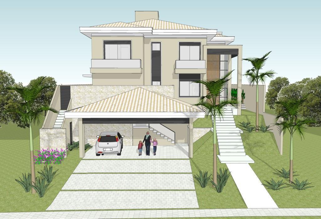 Casa residencial à venda em construção AlphaVille Campinas