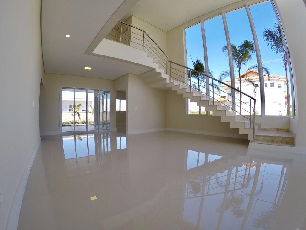 Casa residencial para locação, Loteamento Parque dos Alecrins, Campinas.