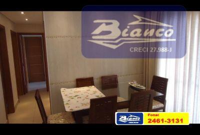 Apartamento Residencial à venda, Vila Augusta, Guarulhos - AP0407.