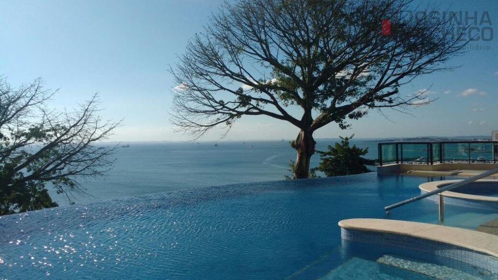Luxo, sofisticação e vista deslumbrante! Apartamento na Vitória, Salvador.
