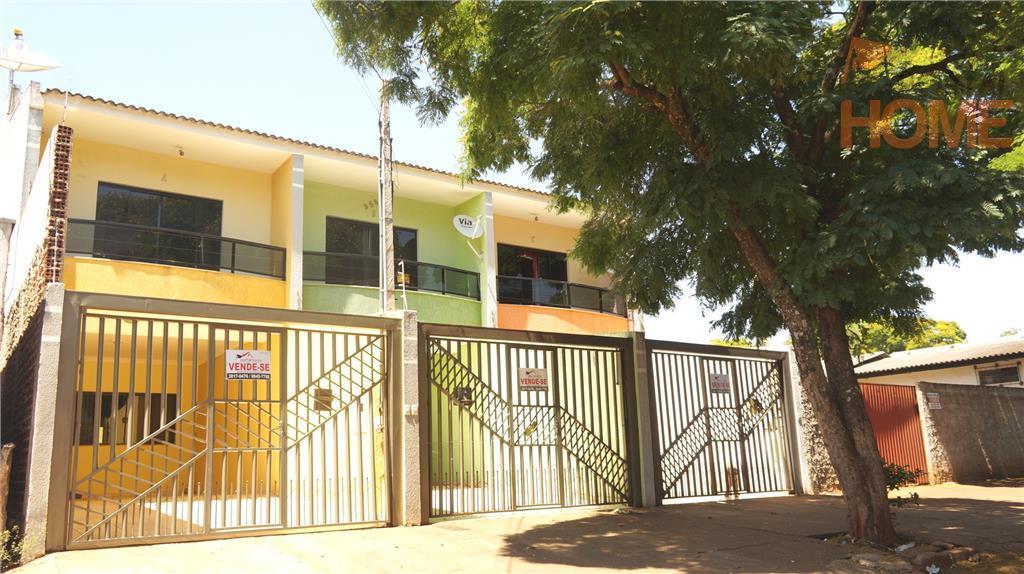 Sobrado residencial à venda, Jardim Alvorada, Campo Mourão.