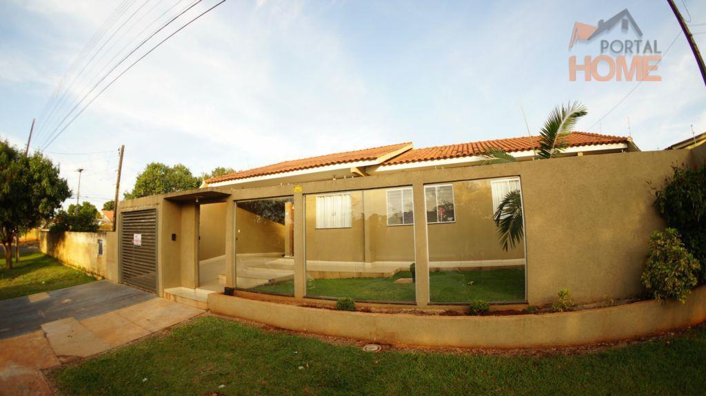 Casa residencial à venda, Jardim Araucária, Campo Mourão.