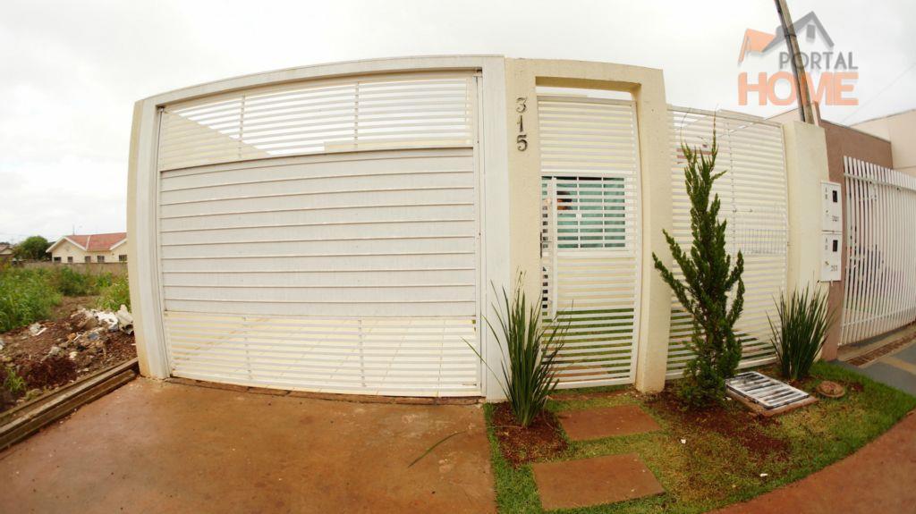 Casa residencial à venda, Jardim Lar Paraná, Campo Mourão - CA0204.