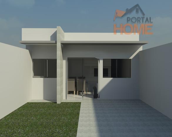 Casa residencial à venda, Jardim Ipanema, Campo Mourão.