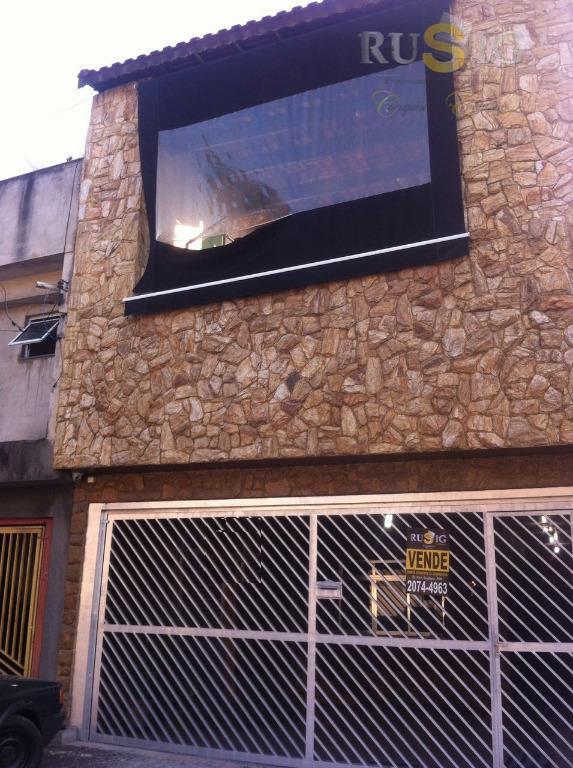 Sobrado 3 Dorms  1 Suíte  2 Vagas, Jardim Nossa Sra. do Carmo, São Paulo.