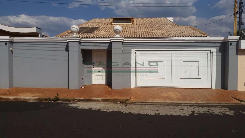 Casa  residencial à venda, Jardim Antártica, Ribeirão Preto.