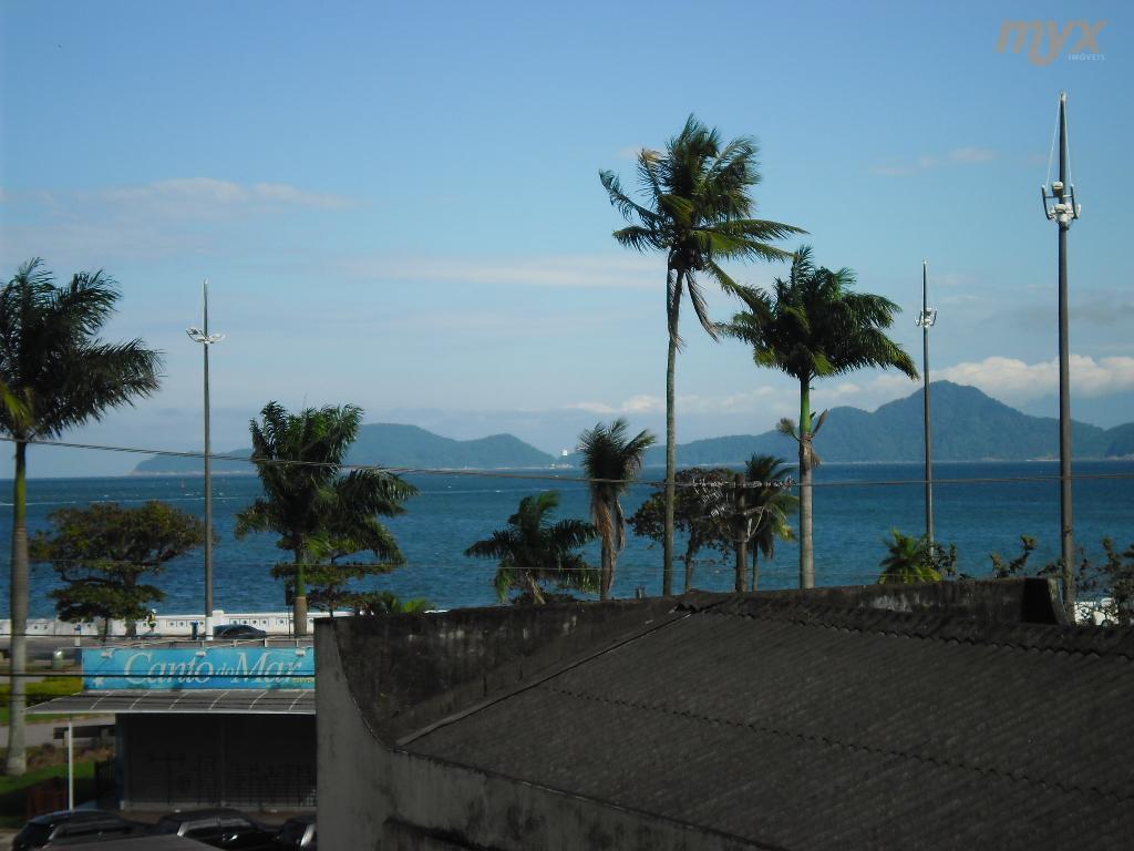 ponta da praia - ótimo apartamento, perto do aquário, vista lateral livre p/ o mar com...