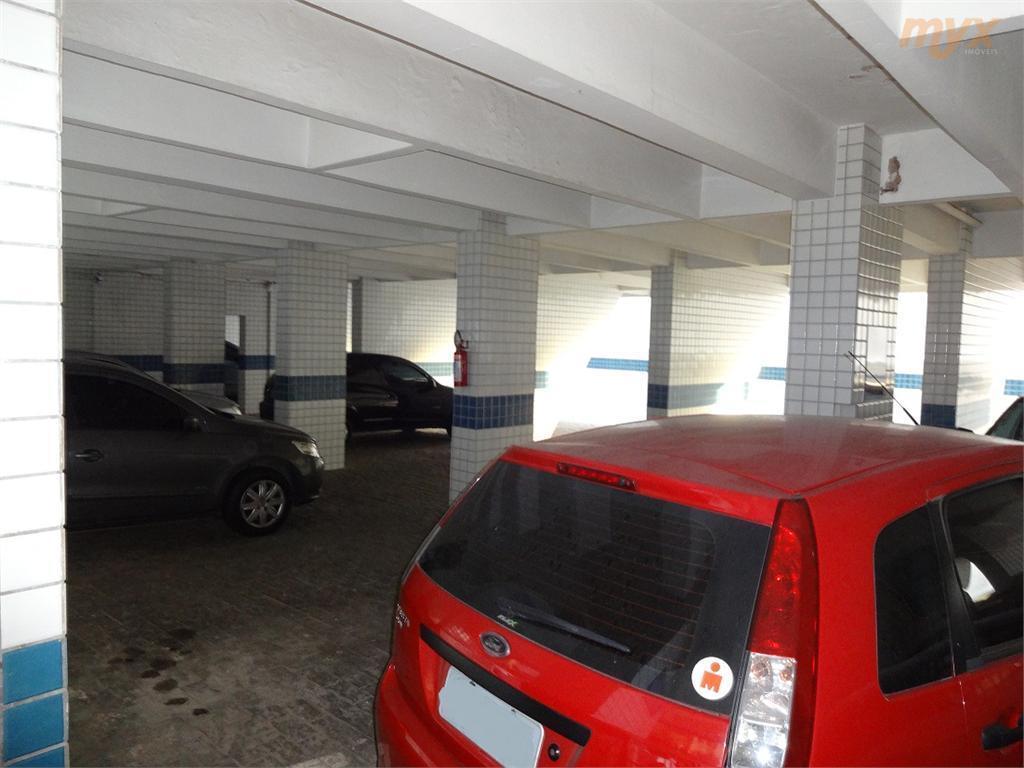 aparecida - praia - ótima localização - 02 dormitórios (com sacadinha) - sala para 2 ambientes...