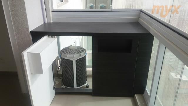 alugo apartamento 1 dormitório planejado , ar condicionado , sala ampliada com sacada envidraçada , andar...