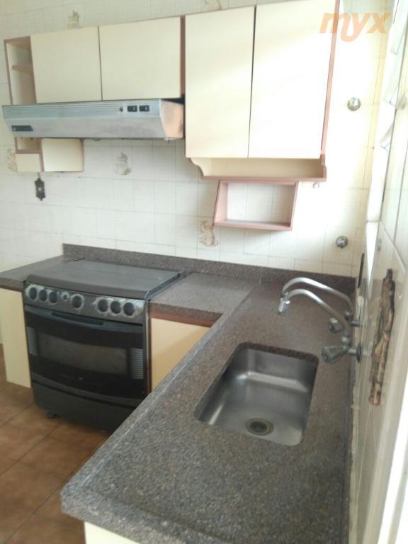 gonzaga excelente localização - apto 3 dormitórios com suite, armários embutidos nos dormitórios, cozinha com moveis...