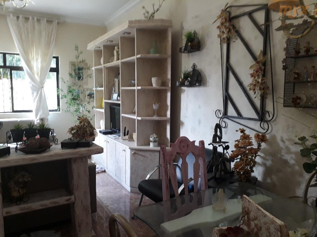 ótimo sobrado no estuário - santos03 dormitórios sendo 01 suíte (com varanda mobiliável e closet), sala...