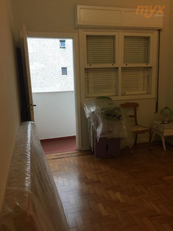 excelente localização - bairro privilegiado de santos pra quem procura qualidade de vida.apartamento de 2 dormitórios...