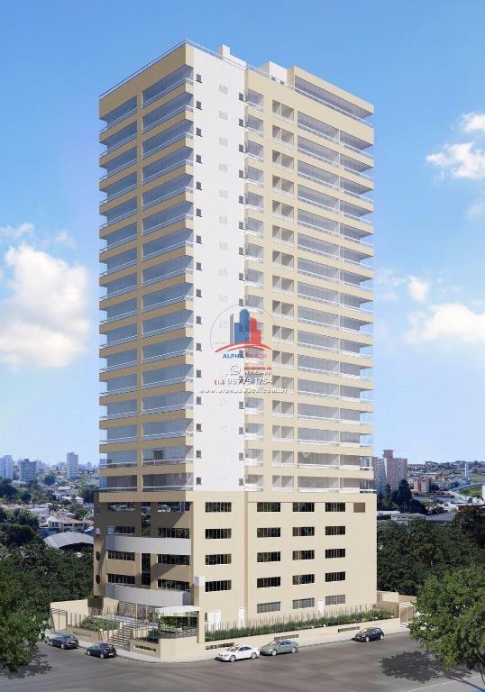 Apartamento residencial à venda, Centro, São Vicente.