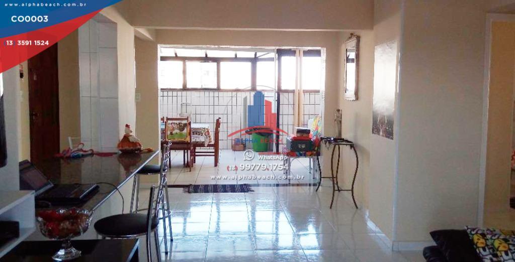 Cobertura na Guilhermina com 2 dormitórios e 1 suíte,  mobiliada