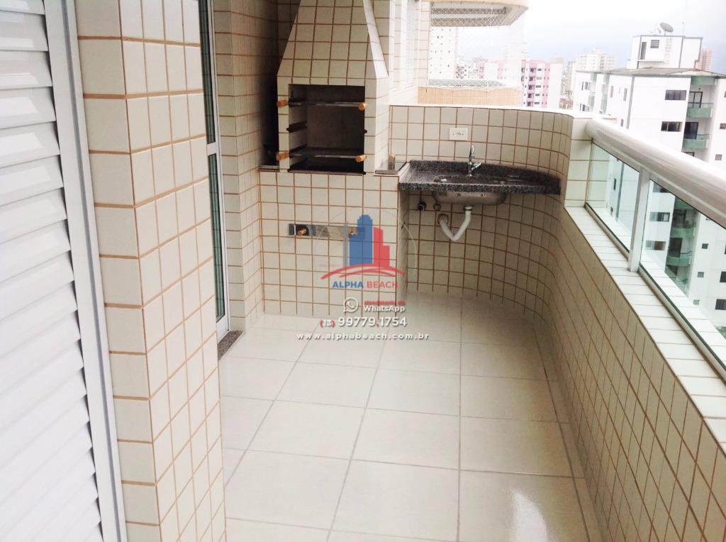 Apartamento 1 dormitório mobiliado com varanda gourmet - Prédio com Lazer completo.