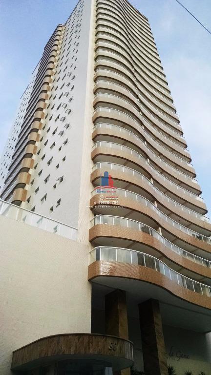 Apartamento novo 10m do Mar - 2 dormitórios andar alto - Prédio com lazer completo