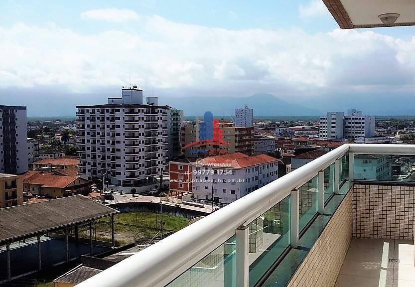 Apartamento 2 quartos, suíte, Boqueirão, Praia Grande