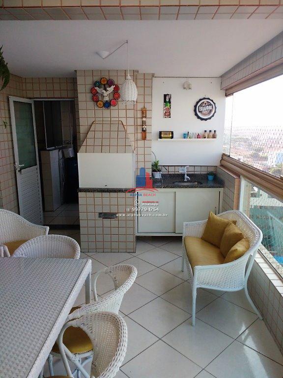 Apartamento 3 dormitorios, suíte, Aviação, Praia Grande
