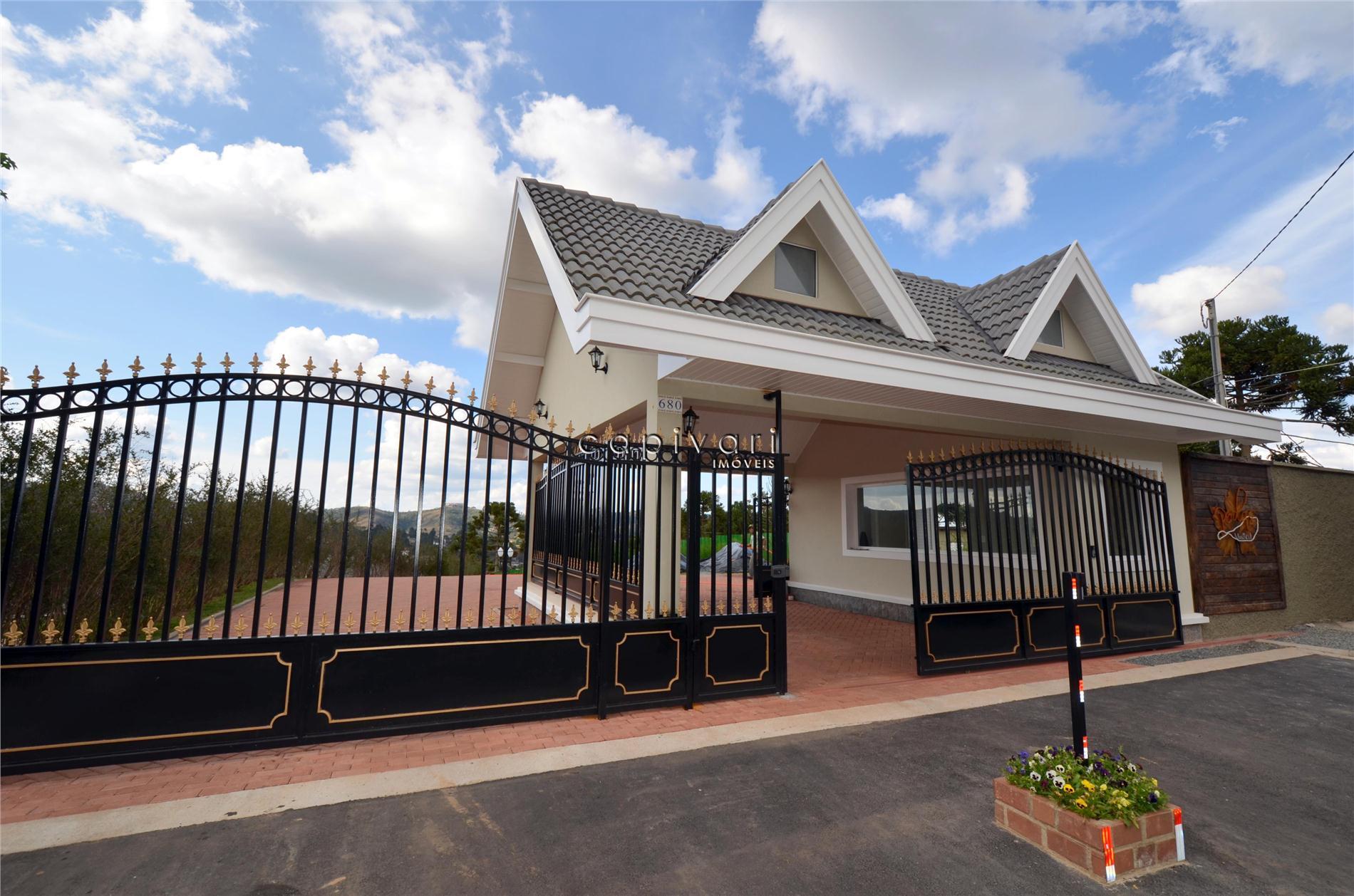 Casa residencial à venda, Nova em Condomínio Fechado - C. Jordão