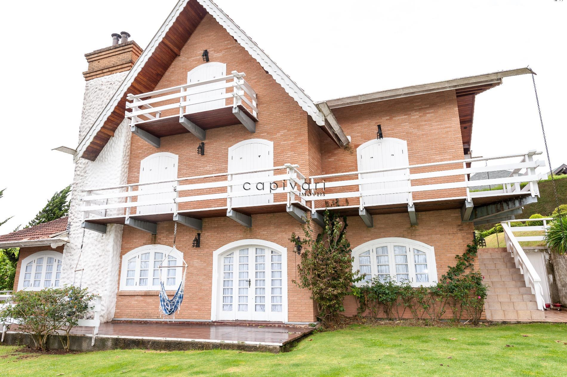 Casa  residencial à venda, Alto Do Capivari, Campos do Jordão.