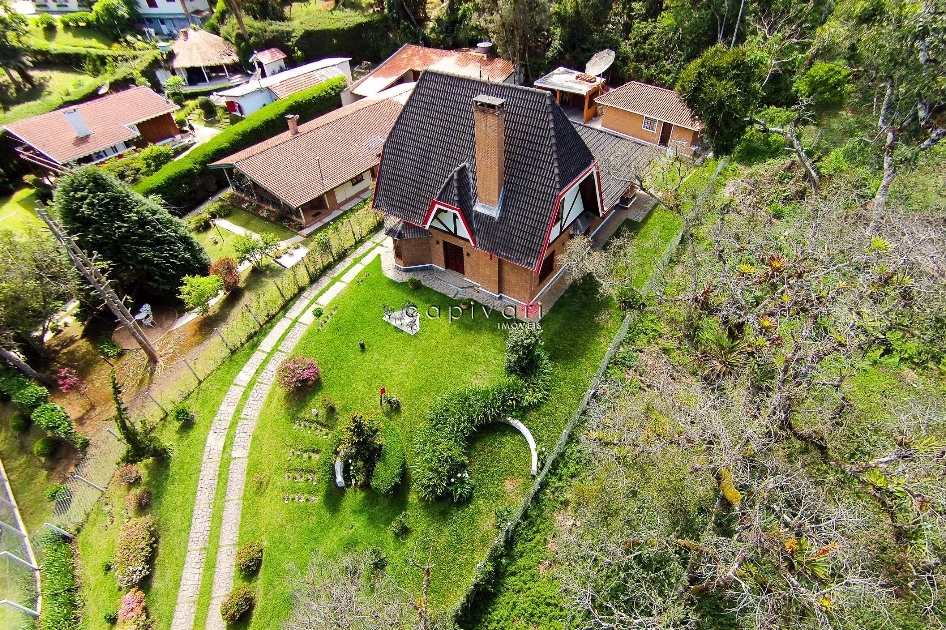 Casa  residencial à venda, Vila Capivari, Campos do Jordão.