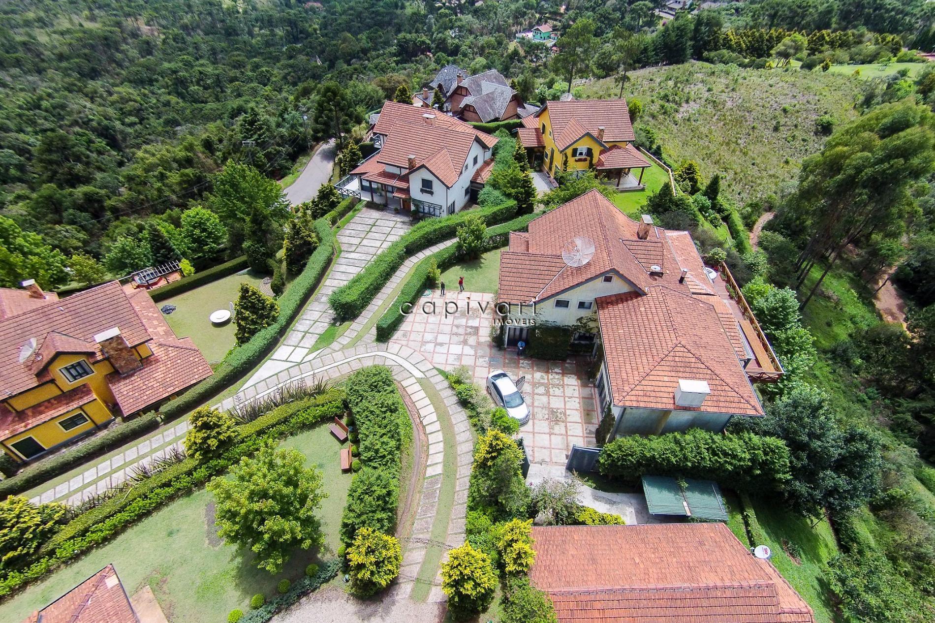 Casa residencial à venda, Jardim Bevedere, Campos do Jordão.