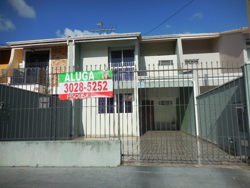 Sobrado residencial para locação, Portão, Curitiba.