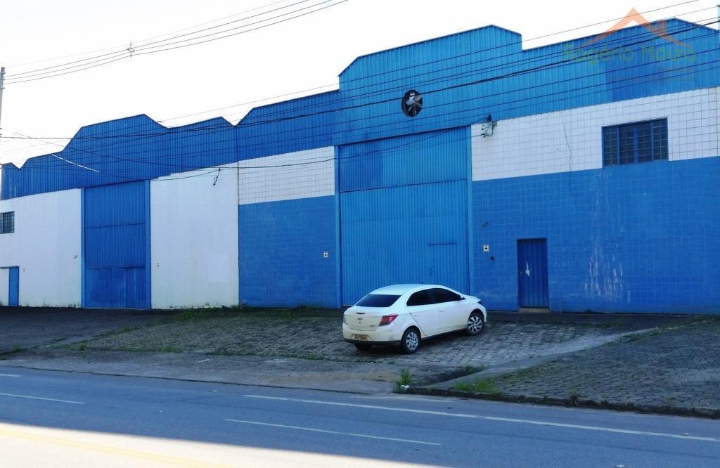 Galpão comercial para venda e locação, Morumbi, Pouso Alegre - GA0015.