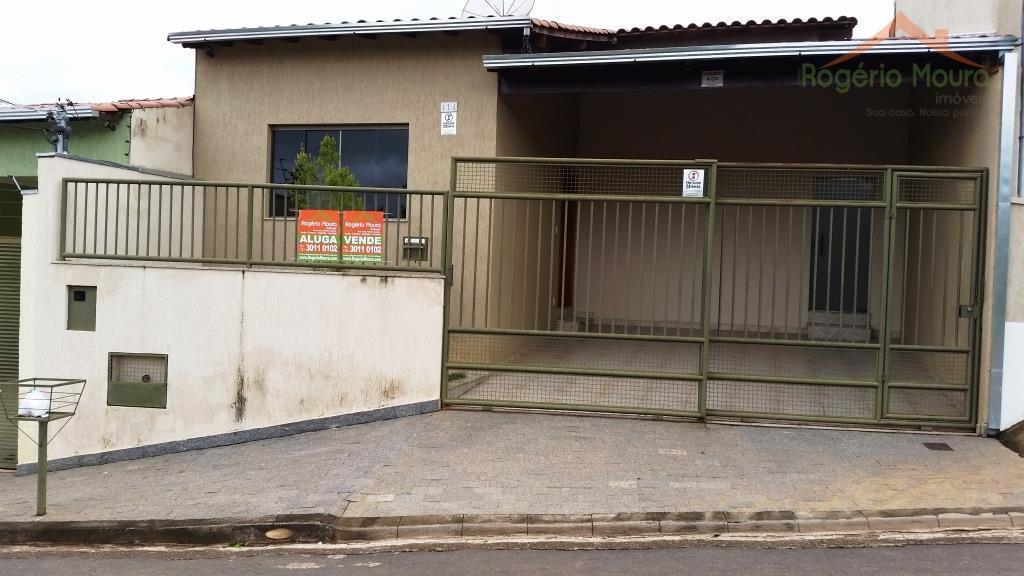 Casa residencial para venda e locação, Jardim Aeroporto II, Alfenas - CA0539.