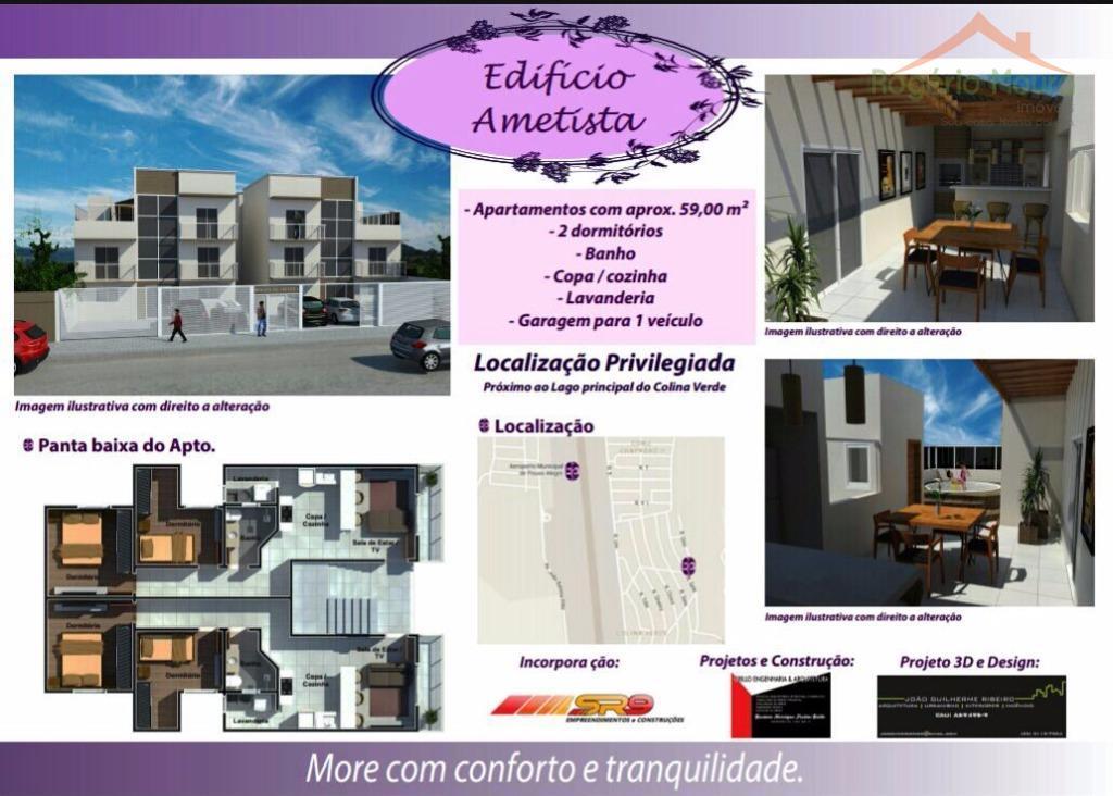 Cobertura  residencial à venda, Colina Verde, Pouso Alegre.