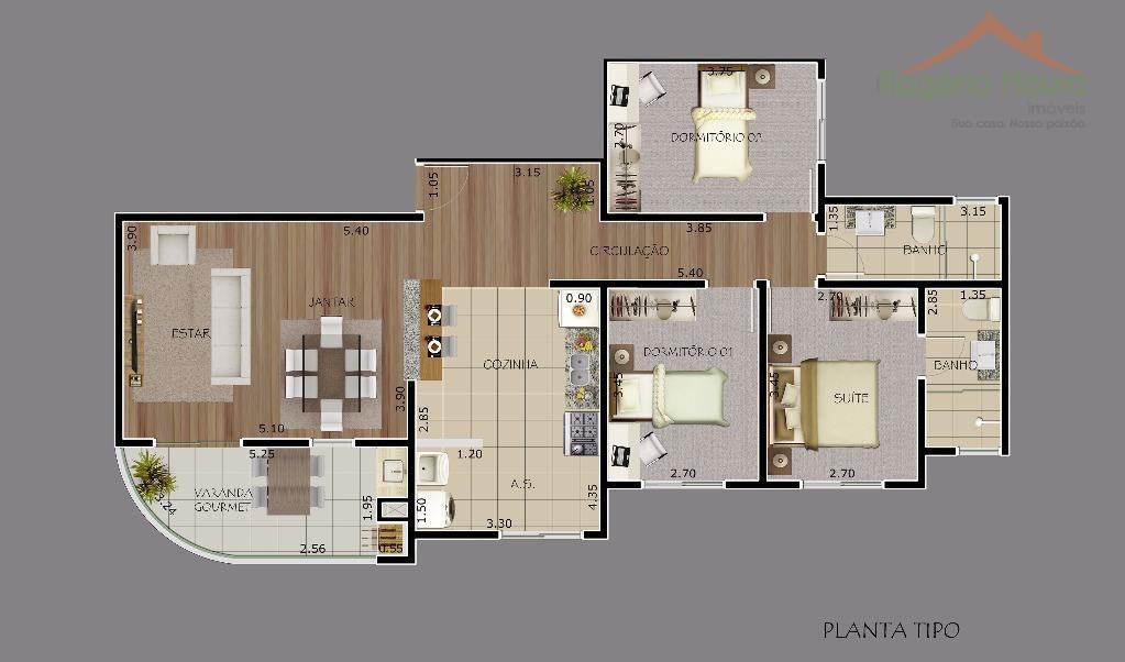 Apartamento residencial à venda, Centro, Alfenas.