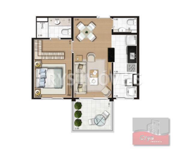 Apartamento Residencial à venda, Morumbi, São Paulo - AP2776.
