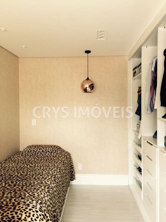 maravilhoso apartamento em santana com 127 m³ ,sendo 03 suítes encantadoras com papel de parede ,...