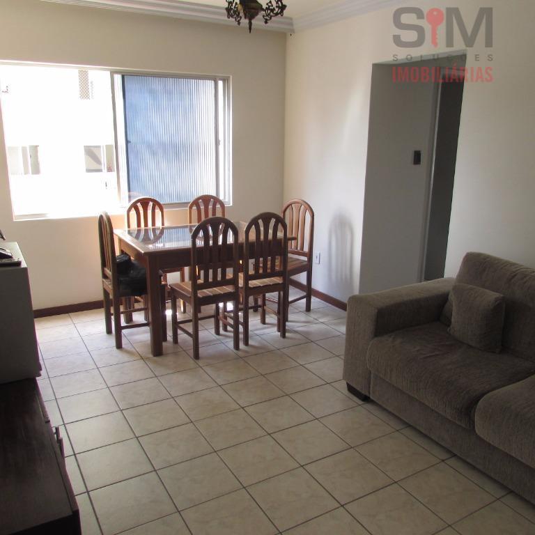 Apartamento 3/4 para locação, mobiliado,  02 vagas, no Costa Azul, Salvador.