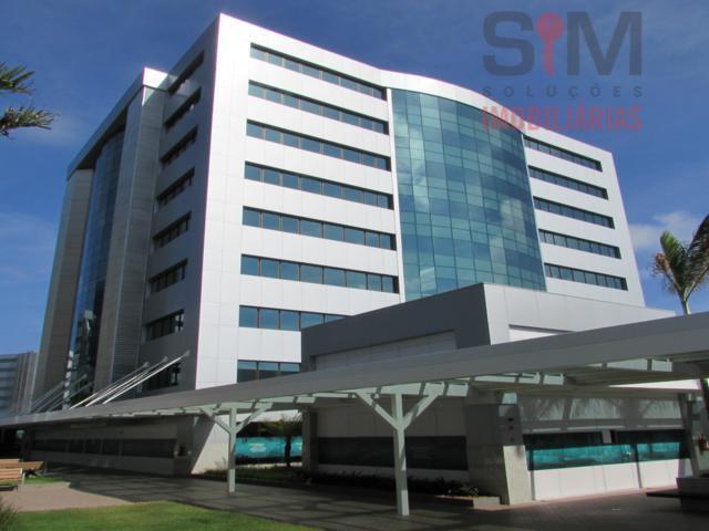 Sala 33m2, com divisoria , ar condicionado e porta de blindex - Hangar Business Park