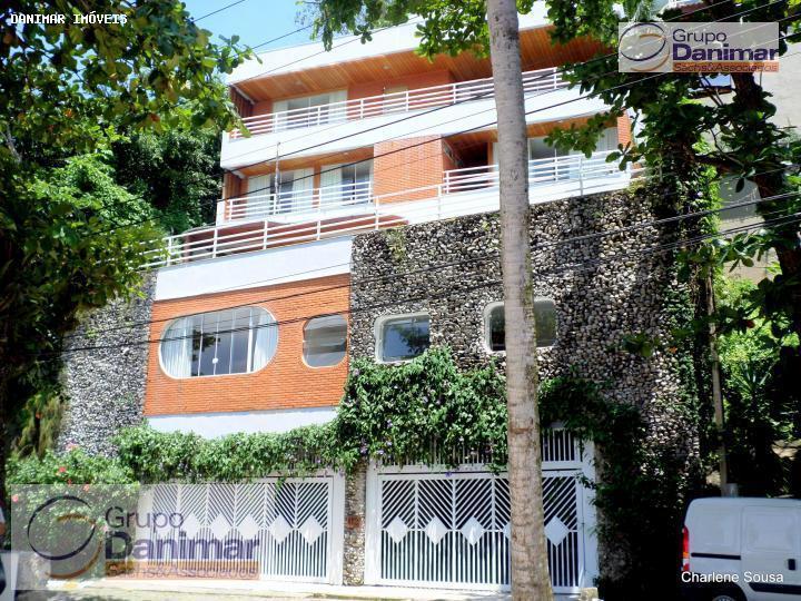 Casa Residencial para locação, Loteamento João Batista Julião, Guarujá - CA0010.