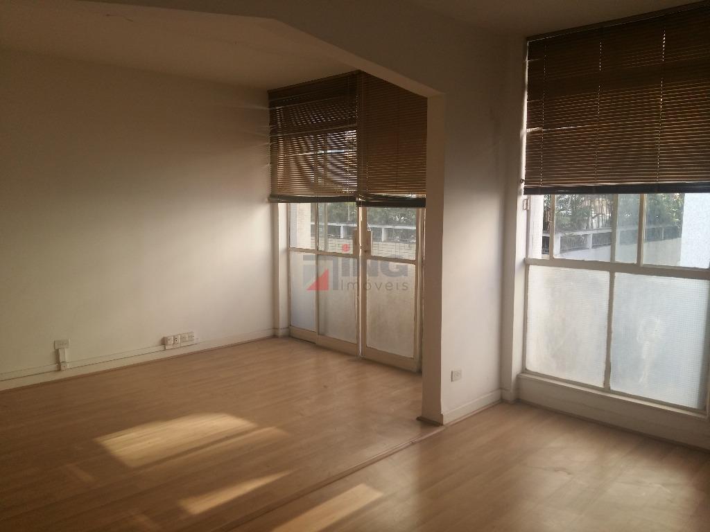 conjunto comercial com 55 m² de área útil / recepção / sala em vão livre /...