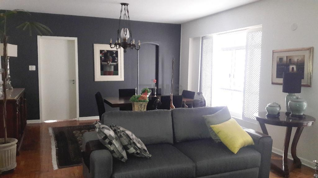 apartamento com 144 m² de área útil / ampla sala 02 ambientes / 03 dormitórios com...