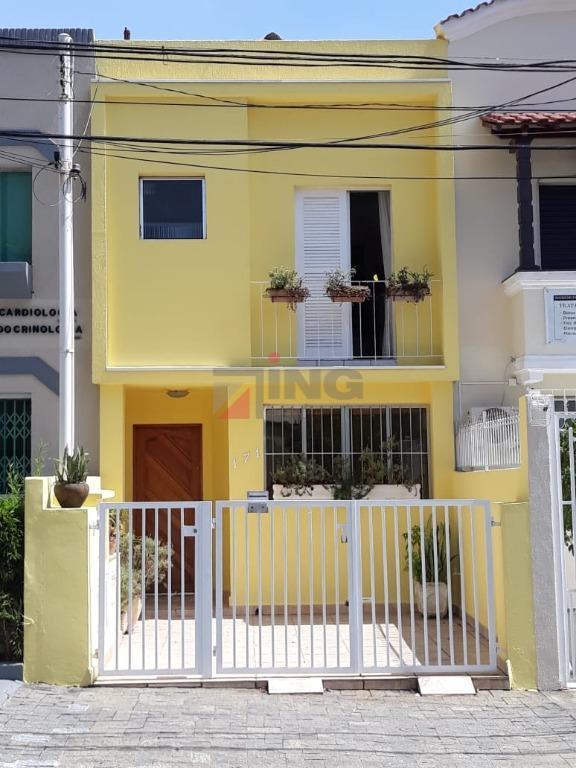 Sobrado residencial à venda, Aclimação, São Paulo.