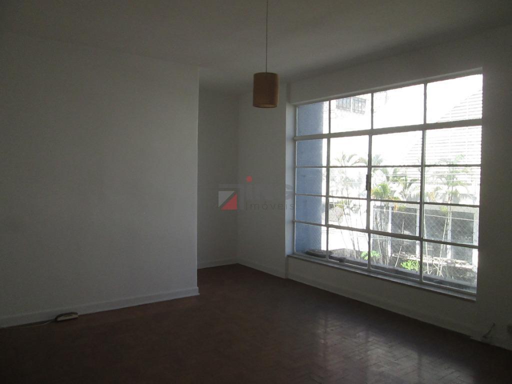 Apartamento com 4 dormitórios para alugar, 120 m² por R$ 2.900/mês - Paraíso - São Paulo/SP