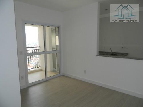 Apartamento para locação de 61 m² no Bairro Boa Vista em São Caetano do Sul.