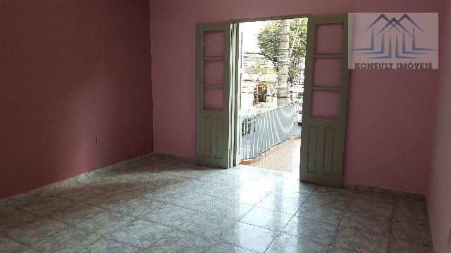 Sobrado para locação de 107 m² no Bairro Santo Antônio em São Caetano do Sul.