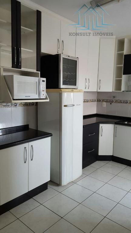 Apartamento para venda de 90 m² no Bairro Campestre em Santo André.