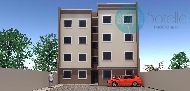 Apartamento residencial à venda, Costeira, São José dos Pinhais - AP0006.