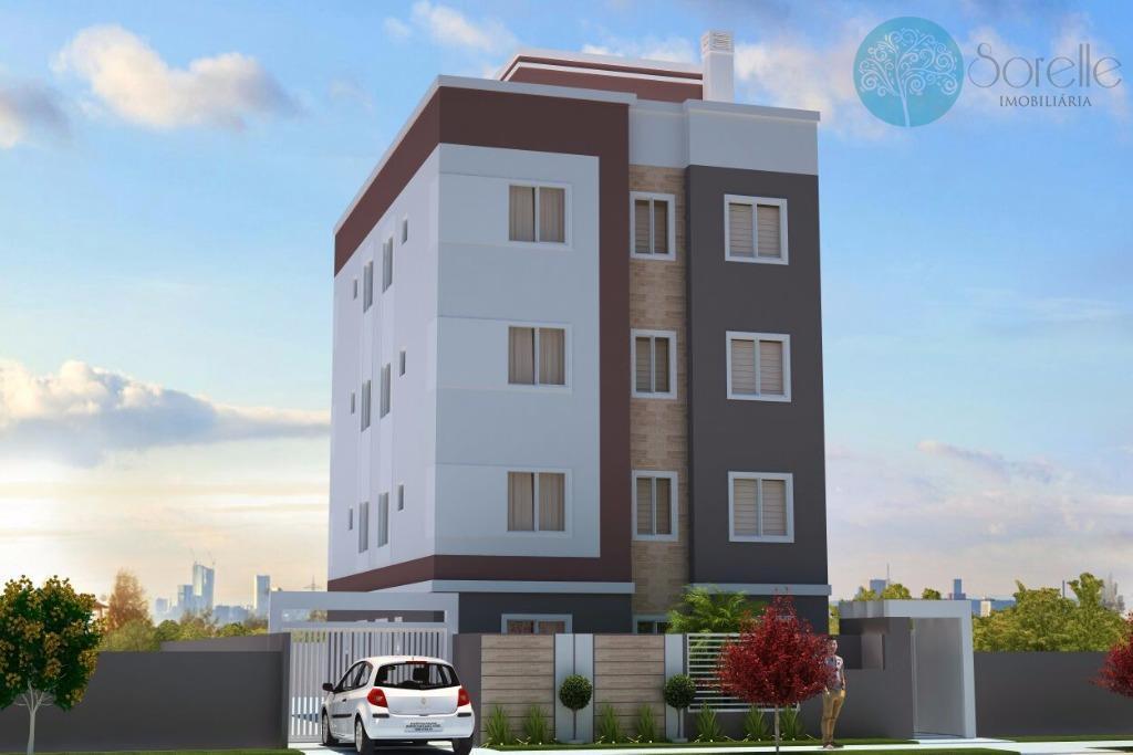 Apartamento residencial à venda, Colônia Rio Grande, São José dos Pinhais - AP0008.